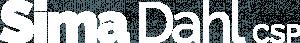 Sima Dahl CSP logo white