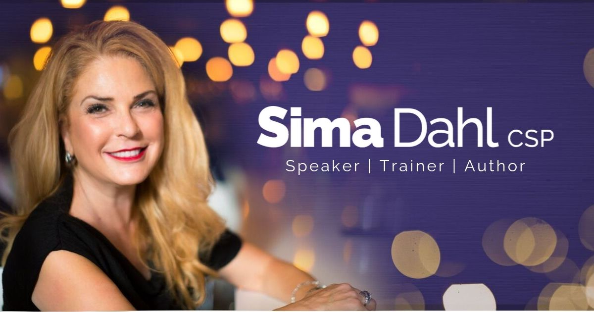 Sima Dahl, Speaker, Trainer, Author